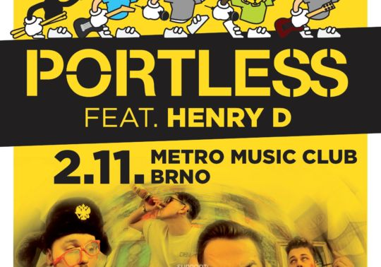 Portless feat. Henry D + special guest Denoi