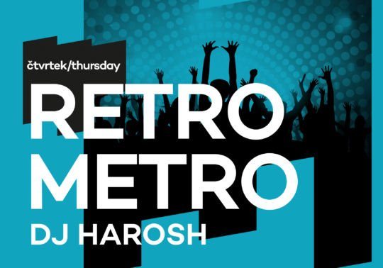 Retro Metro Cpt. Morgan párty – DJ Harosh