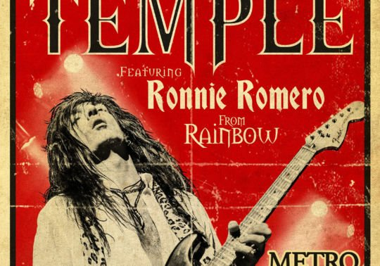 WALTER GIORDANO´S TEMPLE featuring RONNIE ROMERO (from Ritchie Blackmore´s Rainbow)