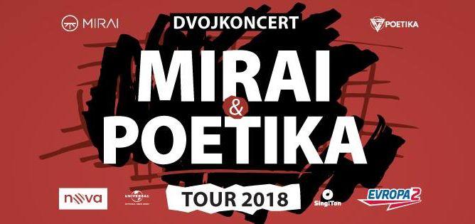 Mirai & Poetika – Tour 2018 – VYPRODÁNO