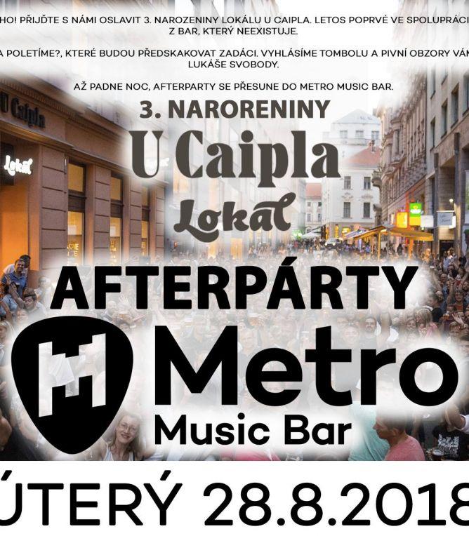 3.narozeniny Lokálu U Caipla After Party – Dj Lais