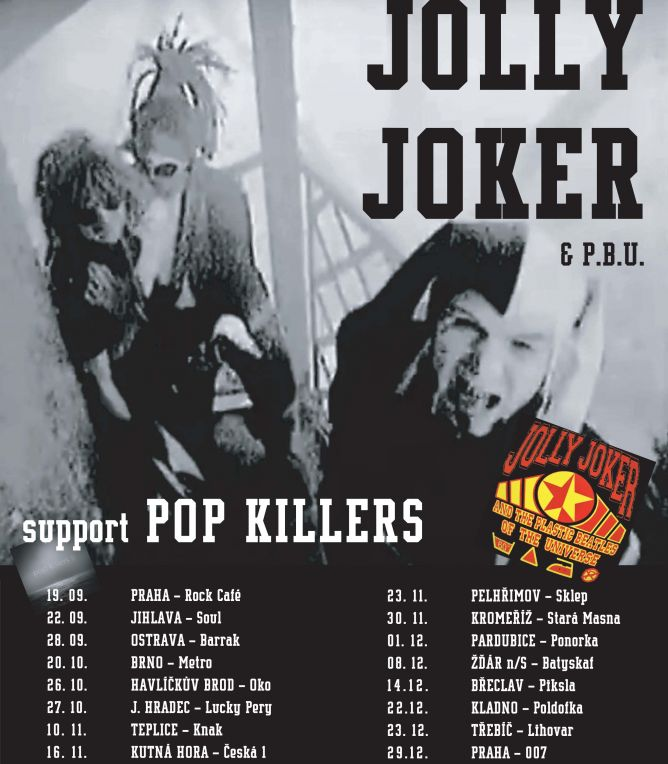 Jolly Joker & The Plastic Beatles of The Universe + Pop Killers