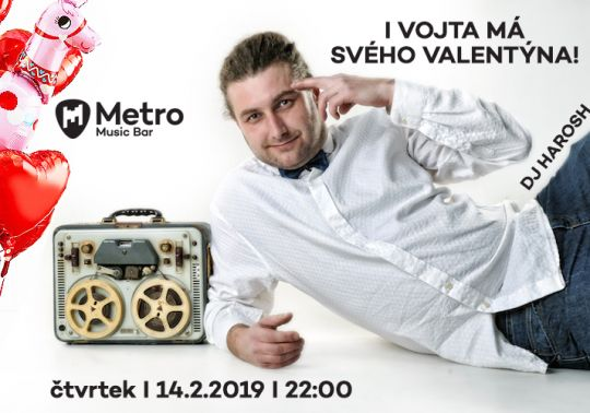 Valentýnská párty – DJ Harosh