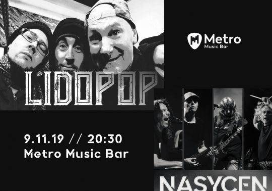Nasycen (Praha) + Lidopop (Brno) & Oldies but Goldies DJ Silent