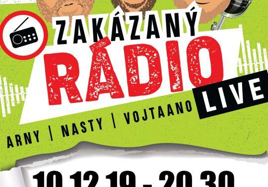 Zakázaný rádio – Live!