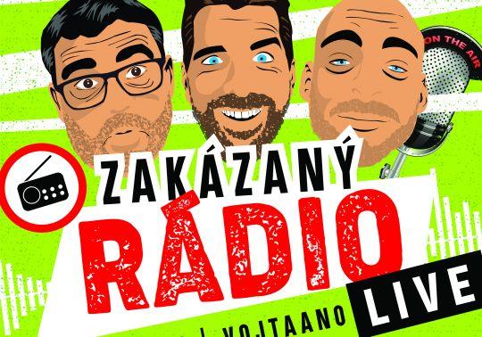 Zakázaný rádio – Live! – přesouvá se na 16.6.20 – vstupenky zůstávají v platnosti!