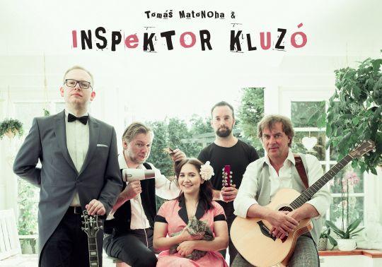 Tomáš Matonoha & Inspektor Kluzó – přesunuto na 3.11.20 – vstupenky zůstávají v platnosti!